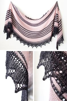 Ravelry: Daydreamer shawl in Lanitium ex Machina hand dyed yarn - knitting pattern by Janina Kallio.