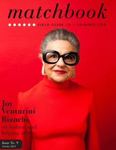 I almost forgot to announce to all my neo-trad friends that Matchbook's October issue starring style icon Joy Venturini Bianchi is now live! Interviewing and shooting her was a dream come true. I h...