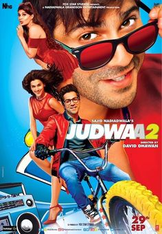 Varun Dhawan will have a hit with Judwaa 2 as well. - 5 reasons why we think Varun Dhawan, Jacqueline Fernandez and Taapsee Pannu's Judwaa 2 will be a raging hit Films Hd, Imdb Movies, 2017 Movies, Streaming Vf, Streaming Movies, Bollywood Movies 2017, Bollywood News, Movies 2017 Download, Kuch Kuch Hota Hai