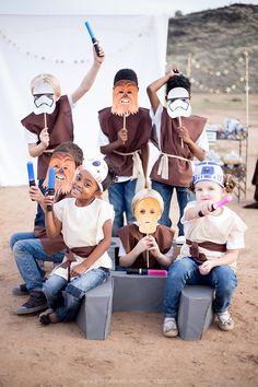 Organiser un anniversaire sur le thème de Star Wars, masques à imprimer gratuits