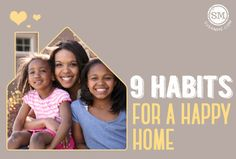 Before we go crazy with all the things that need to get done before our heads hit the pillow tonight, maybe it's time to stop the spinning and make sure we have a few happy habits in place.  The kind that will keep us focused on joy in all the crazy.  #happyhome #momlife #habits