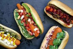 We were surprised, to say the least, by this carrot dog recipe. Correction. By this homemade vegan carrot dog. You will be, too.