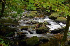 Digital Desktop Wallpaper  Water over Rock  by JamesMcCarthyPhoto