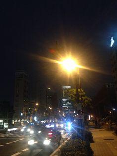A night stroll in Osaka