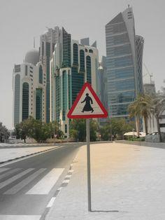 Qatar - Funny Signal in Doha