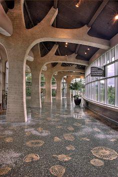 Michele Oka Doner floor at Meijer Gardens