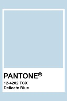 Azul Pantone, Paleta Pantone, Pantone Tcx, Pantone Blue, Pantone Swatches, Color Swatches, Pastel Blue Color, Baby Blue Colour, Light Blue Color