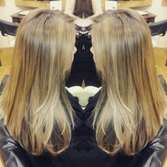 Golden blonde balayage colour inspiration. Blonde balayage colour ideas.