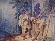 'Tropeiros pobres de Minas' - Rio de Janeiro, 1823