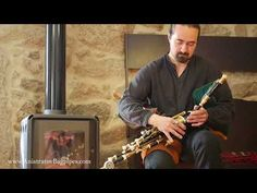 Anistratov concert Uilleann pipe chanter in ebony - YouTube