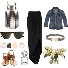 """""""College Outfit #3"""" by ohlookitsdonte on Polyvore"""