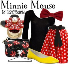 Okay, I just love all of these Minnie Mouse inspired outfits. <3