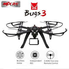 Mjx B3 Bugs 3 Rc Drone Helicopter Brushless Motor Remote Control Quadcopter With Camera Mount For Gopro Xiaomi Xiaoyi