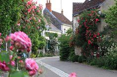 Chédigny village jardin, seul village de France classée Jardin Remarquable, se situe en Indre et Loire, dans la vallée de l'indois près de Tours.