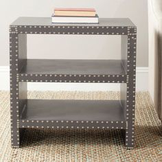 Safavieh Lacey Grey Side Table   Overstock™ Shopping - Great Deals on Safavieh Coffee, Sofa & End Tables