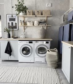Laundry Room Remodel, Laundry Decor, Small Laundry Rooms, Laundry Room Organization, Laundry Room Design, Laundry Room Inspiration, Small Room Design, Room Closet, Küchen Design