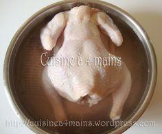 poulet roti 1 - cuisine à 4 mains