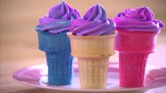 Even if the ice cream truck isn't yet making the rounds on your block, these cupcakes will make you feel like summer!