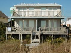 Atlantic Beach, NC Vacation Rentals | Sandcastle East - 110 East Boardwalk | Atlantic Beach Oceanfront