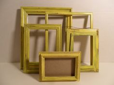 DIY goodwill frames. :)