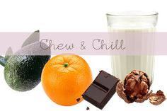 10 stress relieving foods. #health #chillout
