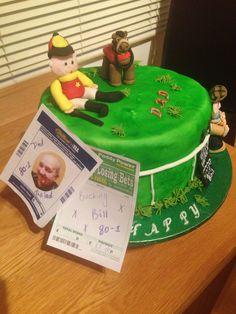 Horse racing cake no2
