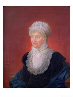 "Caroline Herschel (1750-1848). Caroline Herschel worked with her brother William in compiling the first catalog of nebulae. She was the first woman to discover a comet and in addition in comets, also discovered a number of deep-sky objects. She was awarded the Royal Astronomical Society's Gold Medal and was an honorary fellow of that society. (Portrait: M.F. Thielemann)  ©Mona Evans, ""Caroline Herschel"" http://www.bellaonline.com/articles/art32051.asp"