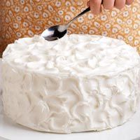 Use these easy tips and instructions to learn how to decorate a cake like a pro! Find helpful hints for frosting a cake, filling a pastry bag and more cake decorating tips.