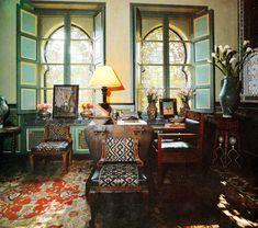 Villa Oasis, Marrakesh - YSL, Bill Willis, Jacques Grange