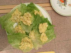 Egg salad lettuce wraps Homemade  :)