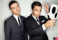 jimmy fallon and justin timberlake epic History of Rap; and so talented and witty and entertaining.  I love this duo.