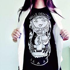 Bazaretto for Tee Trend #bazaretto #teetrend #matrioska #belledentro #tshirt #graphictees