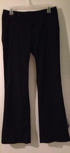 Ladies NEW Size 4 Black Flattering Dress Pants #Mossimo #DressPants $6 @Ebay