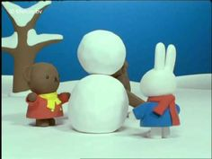 Miffy and the snowbunny (official miffy video) Female Rabbit, Miffy, Beautiful Posters, Dutch Artists, Kids Songs, Winter Theme, Four Seasons, Winter Wonderland, Frozen