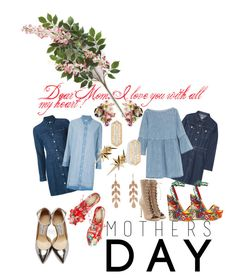 """Mothers Day..."" by seanahr ❤ liked on Polyvore featuring Anabela Chan, Steve J & Yoni P, MM6 Maison Margiela, Dana Rebecca Designs, Balmain, Dolce&Gabbana, rag & bone/JEAN, Jimmy Choo, Simone Rocha and Ludevine"