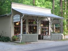 Mud Dabbers Pottery, Brevard, NC. ( my favorite shop in the area-it's addictive)!