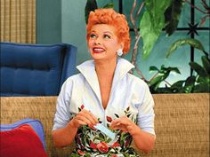 My absolute favorite dress from I Love Lucy! She recycled ite quite a bit. Vintage Hollywood, Classic Hollywood, I Love Lucy Costume, Lucy And Ricky, Lucy Lucy, I Love Lucy Episodes, Lucy Fashion, I Love Lucy Show, Lucille Ball Desi Arnaz