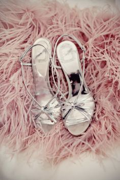 Silver Strappy Heels, Silver Shoes, Silver Sandals, Pink Shoes, Strappy Shoes, Cherry Blossom Girl, Cherry Blossoms, Rose Pastel, Fru Fru