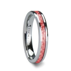 Image result for coral wedding band