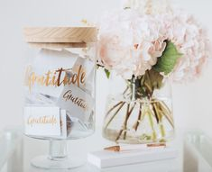 Gratitude/Love Jars - Gratitude Jar