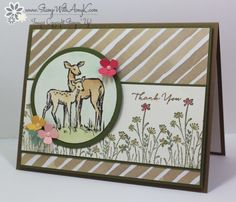Stampin' Up! In the Meadow for the Happy Stampers Blog Hop