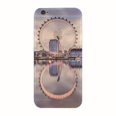 Newest Fashion 4.7 inch Ultra Thin Soft Silicone TPU Beautiful Mountain City Tower Ocean Scenery Phone Case for iPhone 6s 6 Case