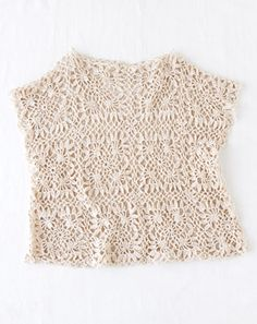 Cute idea... Gap at neck...both shoulders and of course the arm holes and the bottom......crochet two squares the same and attach where it needs to be accordingly.... No problem