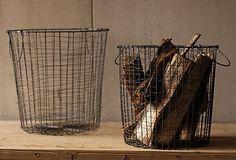 KALALOU  S/2 Round Wire Baskets