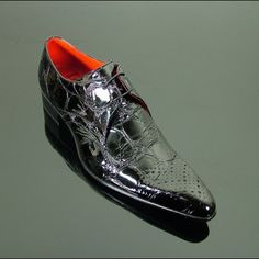 Ziggy - 'Zotto' Chevron Gibson#Shoes #Boots #BestofBritish #JefferyWest #Mensshoes #mensfashion #mensstyle #luxuryshoes #britishbrands #Northampton #Shoetown  #Ziggy