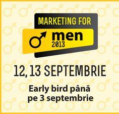 Blogger oficial la Marketing for men 2013