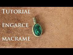 How to make a macrame handmad Wrapped Lavender Jade stone pendant - YouTube