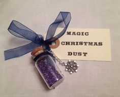 A personal favourite from my Etsy shop https://www.etsy.com/uk/listing/255305090/magic-christmas-dust-christmas