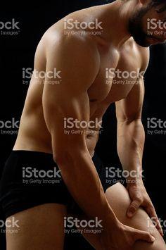 Masculin, douleur de jambes – banque photo libre de droits
