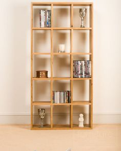 If you need somewhere to store cd's and DVD's this rack could be most accomodating...